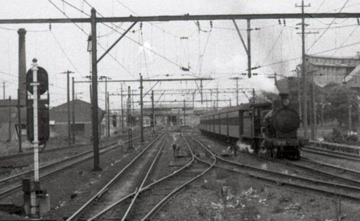 3265 Homebush, Blacktown, NSW express steam engine