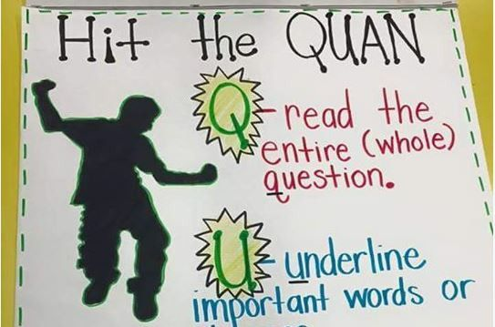 Coordinated dances come and go.  Use some of them to have students dig into text and questions!  Hit the QUAN!