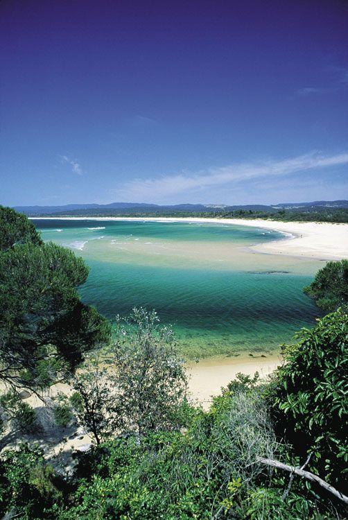 Just one of the many amazing Merimbula beaches, NSW Australia and where I grew up