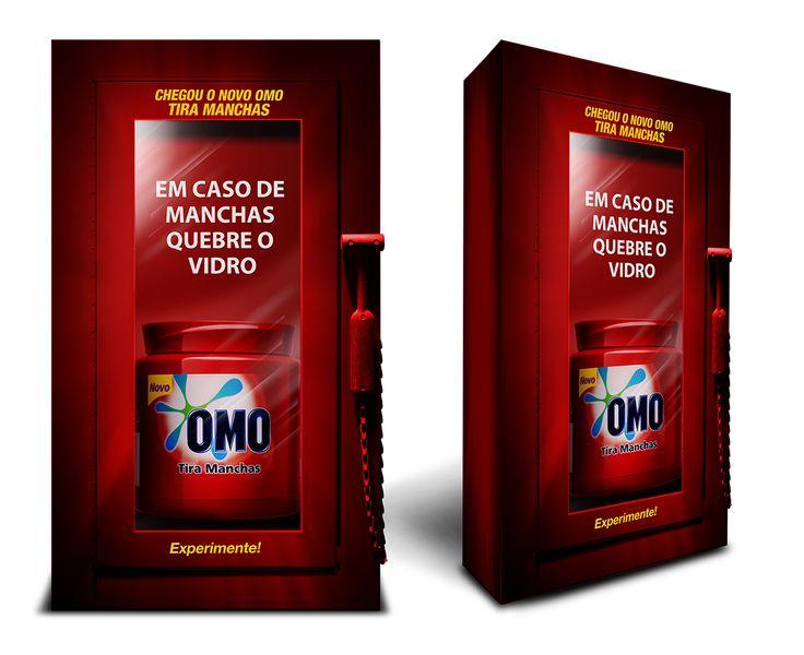 Lançamento Omo tira Manchas Unilever on Behance