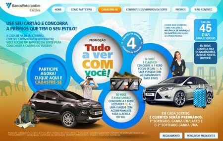Promoçao Banco Votorantim Cartões - NetPromos