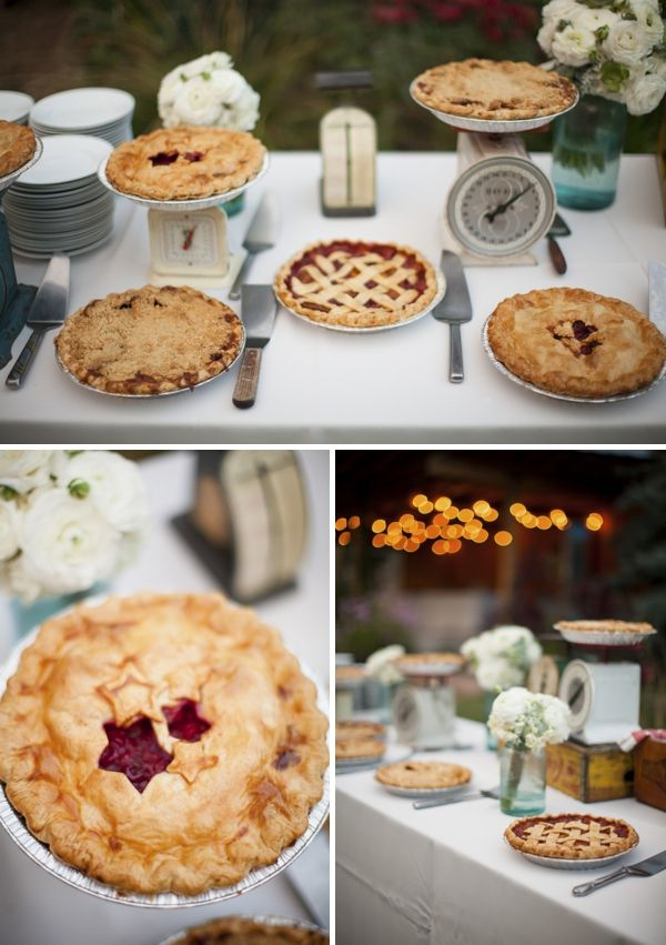 Wonderful Best 25+ Wedding Pie Table Ideas On Pinterest | Pie Bar Wedding, Wedding  Pies And Pie Wedding Cake
