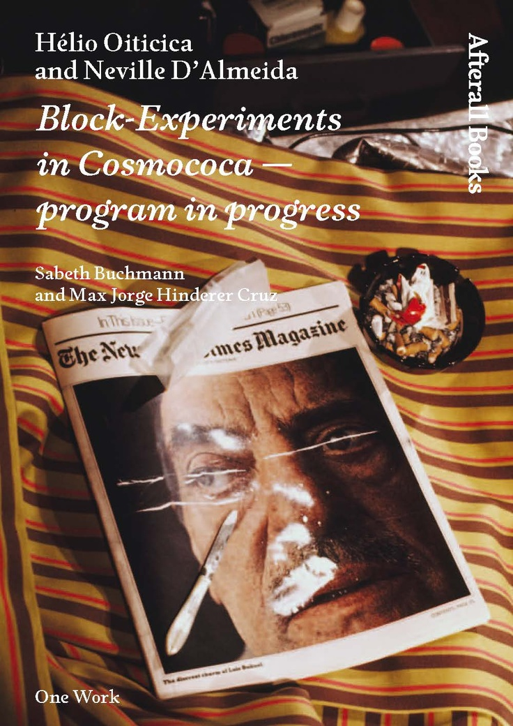 23 best afterall books images on pinterest book books and libri hlio oiticica and neville dalmeida block experiments in cosmococa program in progress afterall books one work fandeluxe Gallery
