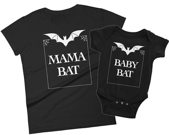 Goth Baby Clothes Matching Mother Daughter Outfit