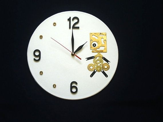 20 best wall clocks fun and funky images on Pinterest Unusual