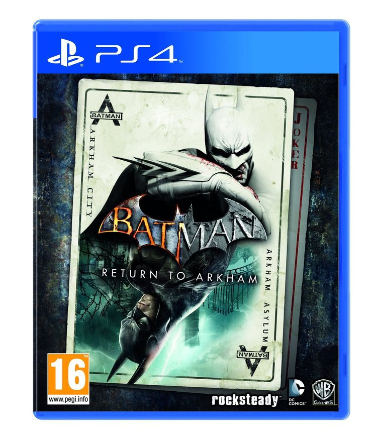 Batman: Return To Arkham PlayStation 4 #BatmanArkhamCity #Batman #BartmanArkham #BatmanReturnToArkham ReturnToArkham  #BatmanArkhamHD