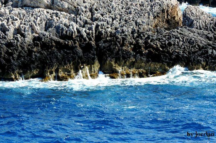 #blue #rocks #sea