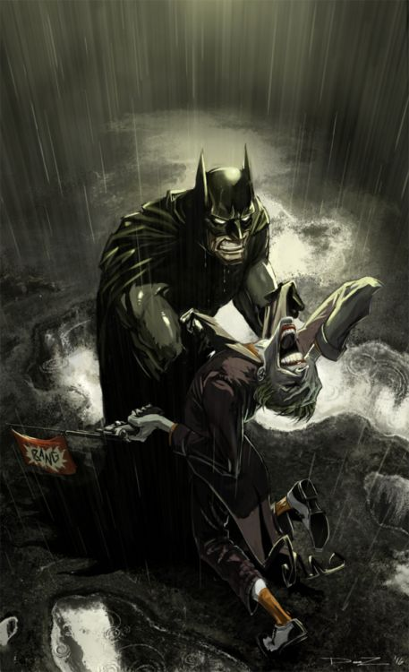 that moment when the batman is just so done with the joker