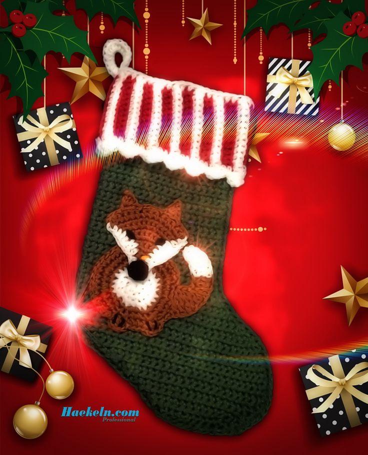 33 besten Weihnachten Bilder auf Pinterest | Häkelanleitung ...