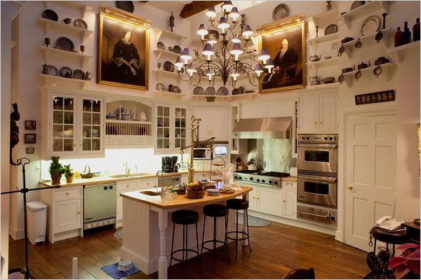 joan rivers home kitchen