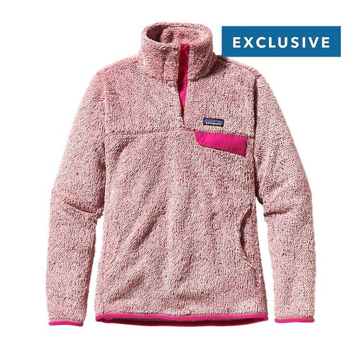 Have wanted a Patagonia jacket forever! http://www.patagonia.com/us/product/womens-special-edition-re-tool-snap-t-fleece-pullover?p=11934-0