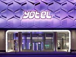 Super cool nieuw hotel in New York: Yotel. Adres: 570 10th Avenue/42 nd street.