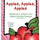 Apples, Apples, Apples is a multileveled passages set. Included in this set are six passages on the same topic at six different text levels, A - I....