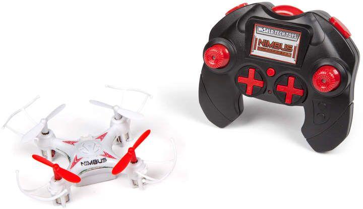 World Tech Toys 2.4Ghz 4.5ch Nimbus Quad-Drone Remote Control Quadcopter