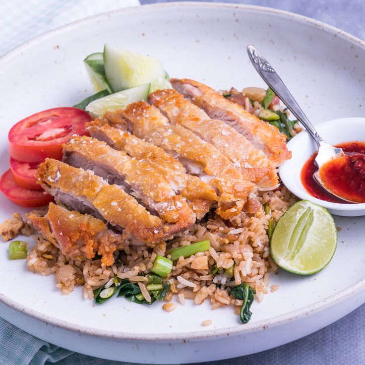 Crispy ChickenWith Special Fried Rice