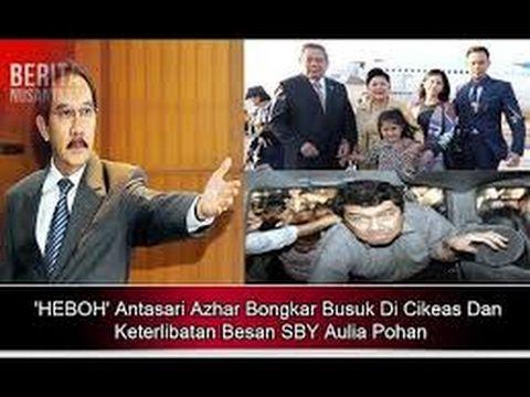 GEGER ! Pers Confrense Antasari Azhar Sebut SBY dan HARI TANOE dalam kas...