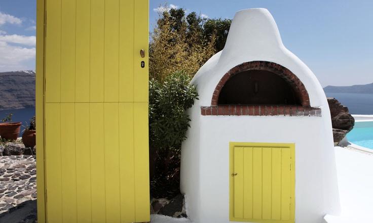 Santorini, Santorini Luxury Villas, Luxury Villa Hermia | Beyond Spaces Villa | Contact us: www.beyondspacesvillas.com/app/en/contact