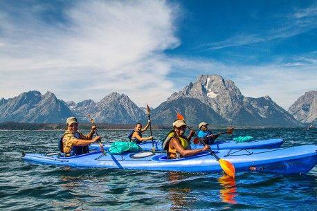 Jackson Hole Vacation Package   Jackson Hole Kayaking