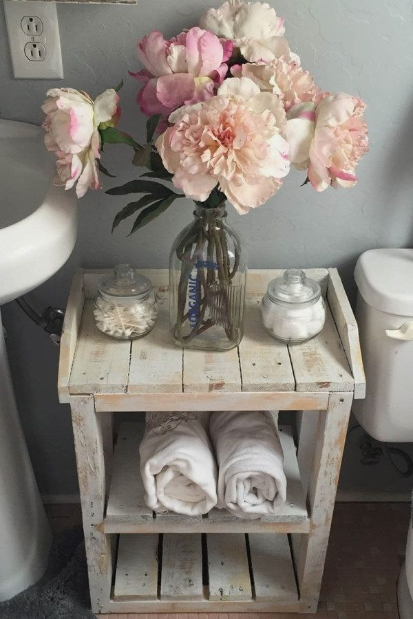 50 Creative Shabby Chic Style Bathroom  Ideas To Try For Your Apartment     Shab… – Country Clothes for Women