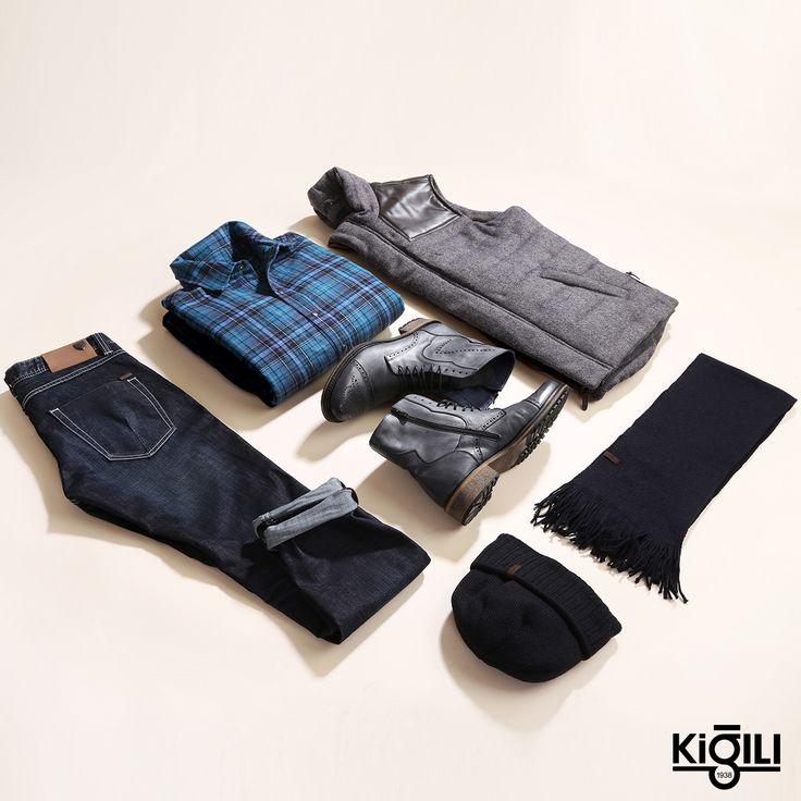 Sezonun trendi oduncu gömlek ve yelek ikilisini kombinlerinize taşıyın, pazar stilinize sportif bir yorum katın.