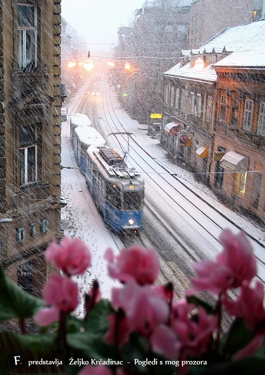 Željko Krčadinac - pogled s mog prozora (ZAGREB)