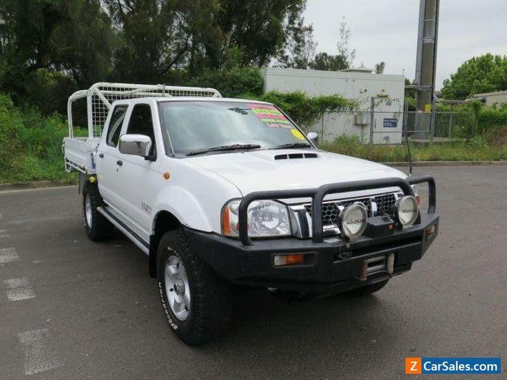 2008 Nissan Navara D22 MY2008 ST-R White Manual 5sp M 4D UTILITY #nissan #navara #forsale #australia