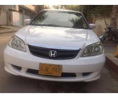 Honda civic prosmatic 2005 Automatic good rates