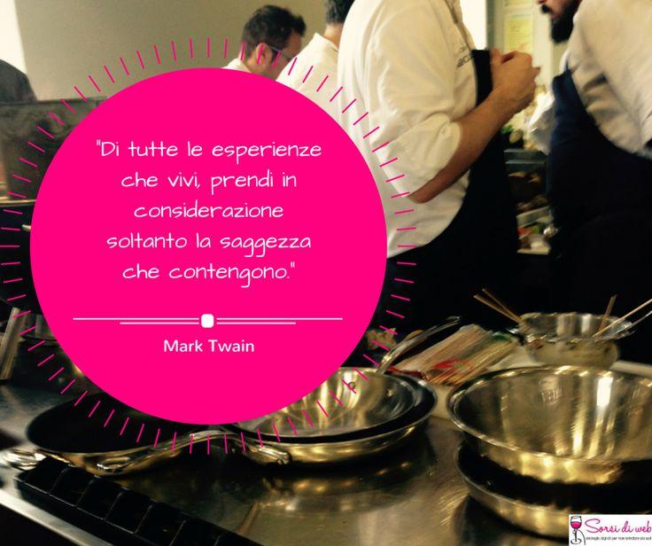 """#SorsidiSaggezza che ci ispirano: """"Di tutte le esperienze che vivi, prendi in considerazione soltanto la saggezza che contengono."""" Mark Twain"""