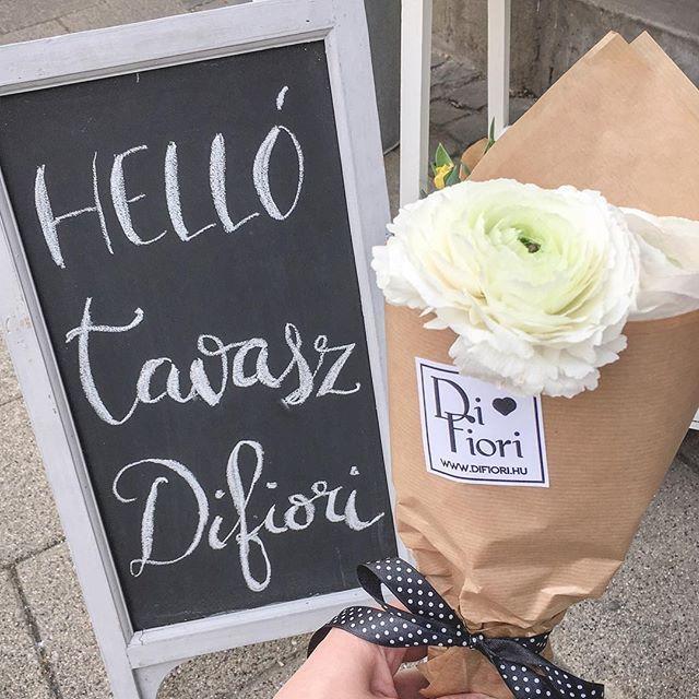 🌸🌸  #tavasz #virág #ranunculus #difiori #DifioriVirágszalon #MonddElVirággal