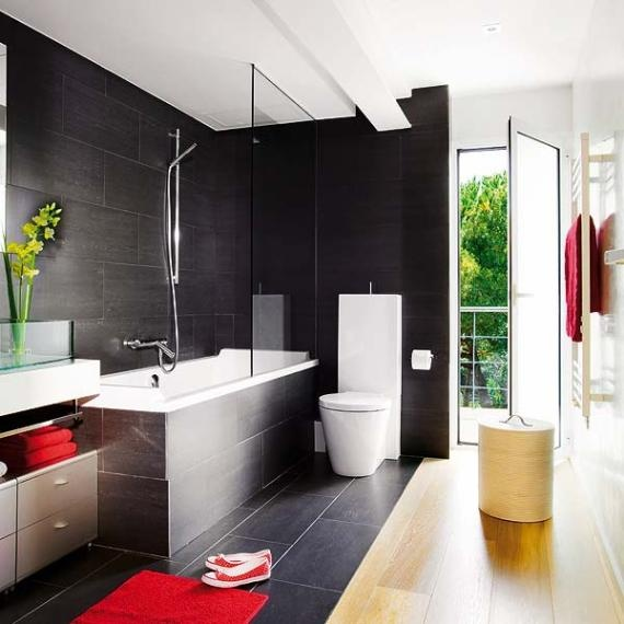 Urban Bathroom Decorating Ideas By Micasa   Lifestyle Is An Important Thing  That Should Be Considered
