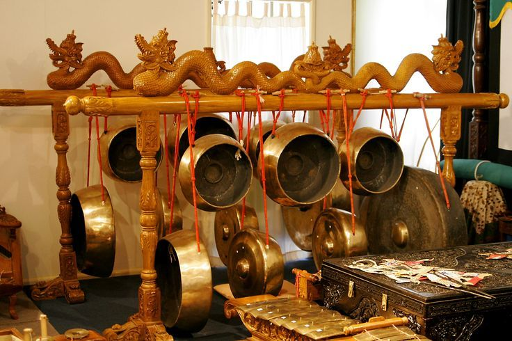 The gong group of the gamelan #music #Indonesianmusic http://livestream.com/livestreamasia