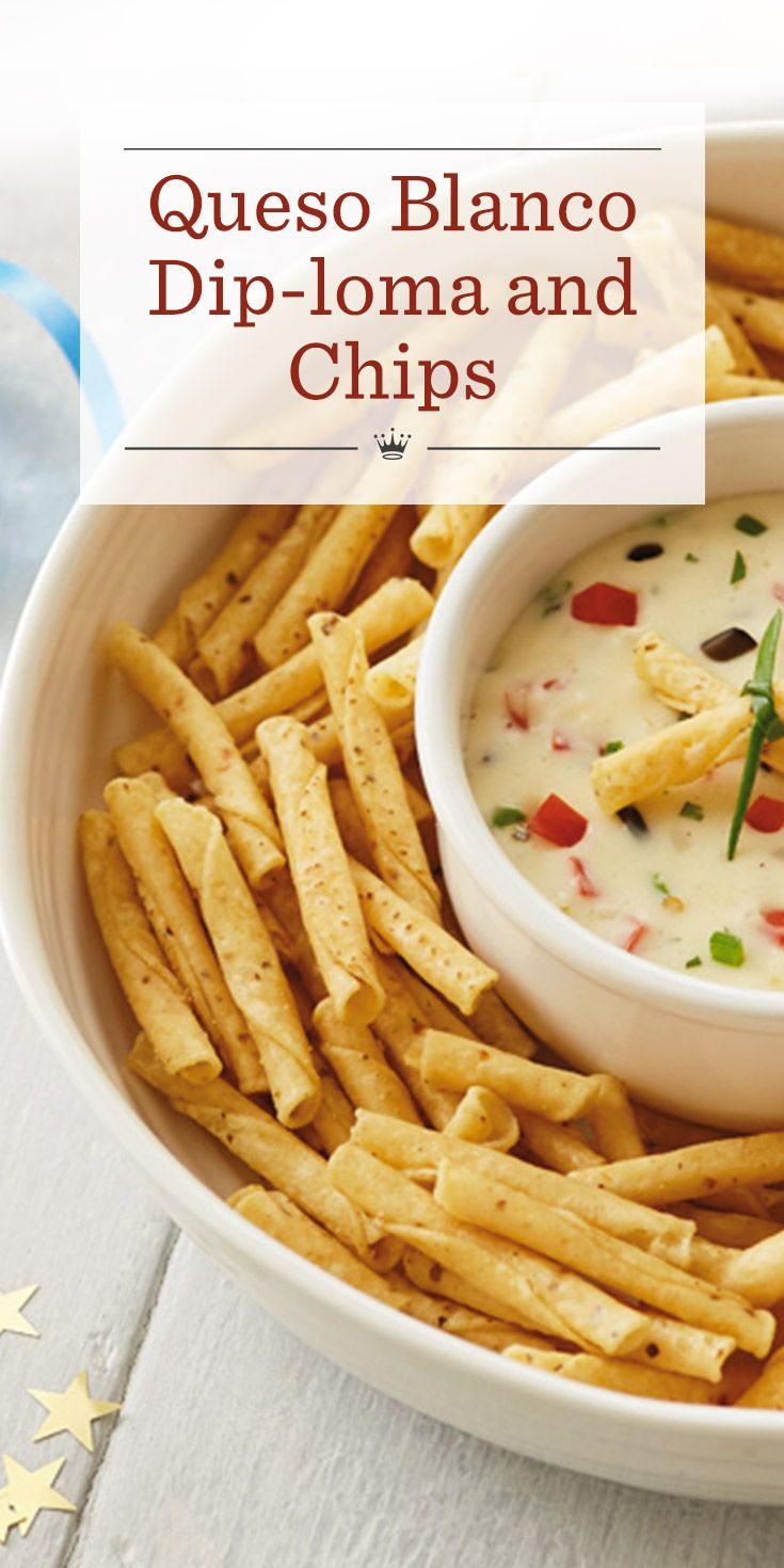 Queso Blanco Diploma And Chips