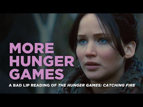 WATCH: Bad Lip Reading Does More HUNGER GAMES, Including an Original Song!
