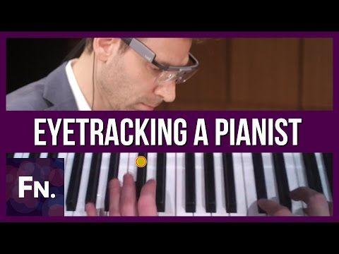 プロピアニストを視線追跡メガネでどこを見て演奏しているかを考察。黒鍵の付け根辺りを見ていることが判明 | Seamless