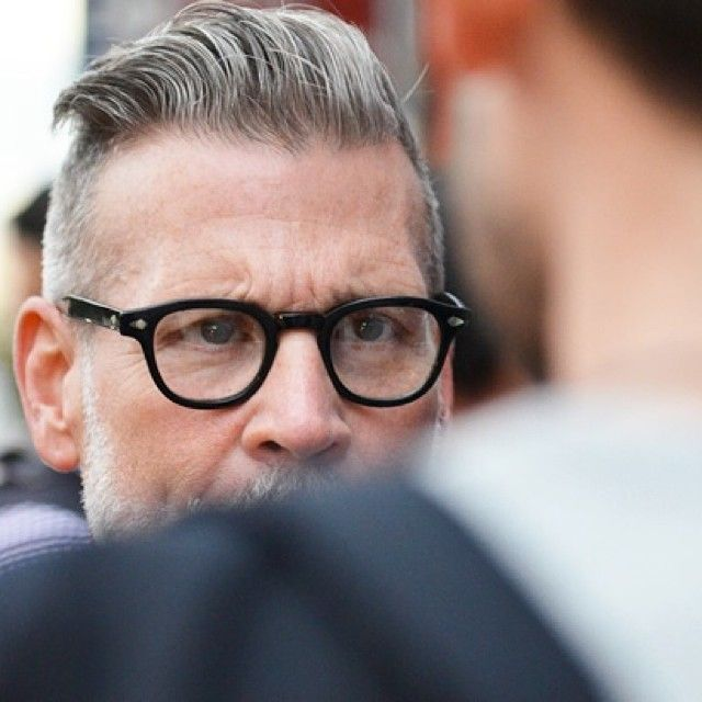Nick Wooster in Moscot Lemtosh Black