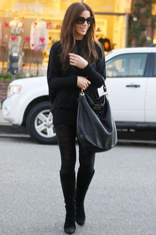Kate Beckinsale Style: Marc by Marc Jacobs Huge Hillier Hobo