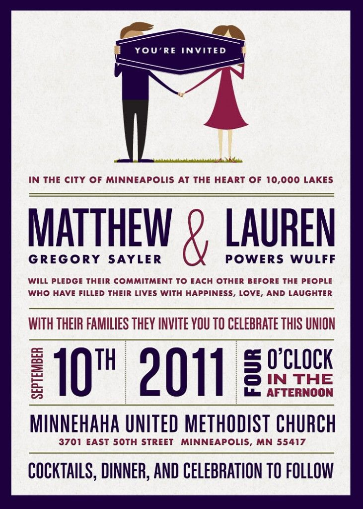 love these! mad lib rsvp's, schedule of events card, wording on invites