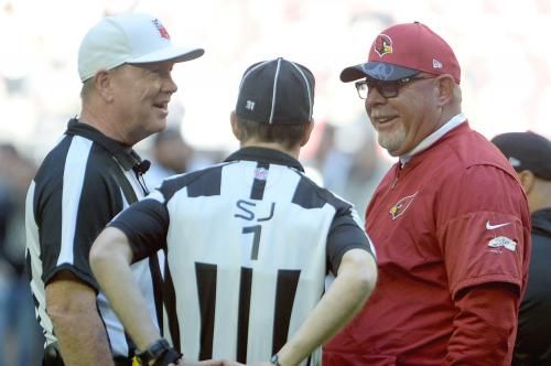 If you believe Bruce Arians and you need a wide receiver, call the Arizona Cardinals head coach. He's got twice as many as he needs.