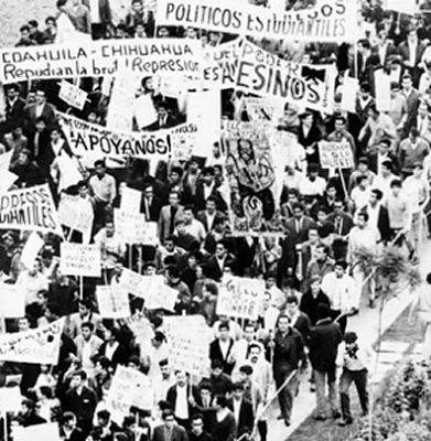 LUCHA DE CLASES Y PROCESO HISTÓRICO: Breve cronología de los principales movimientos sociales ocurridos en México