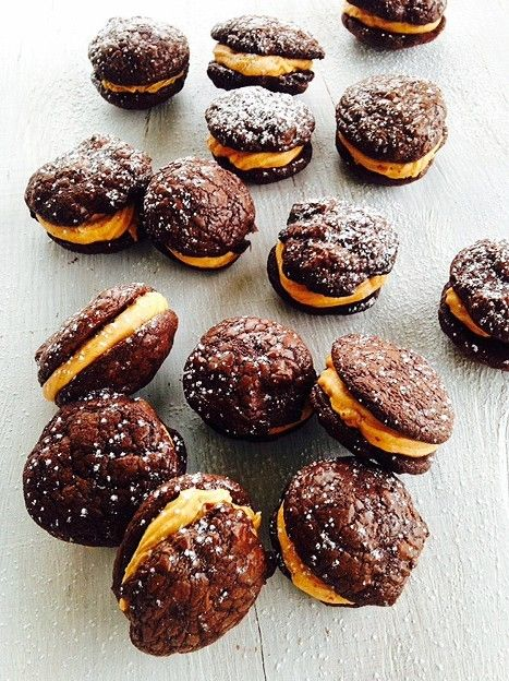 Chocolate and Chilli Peanut Butter Cookies
