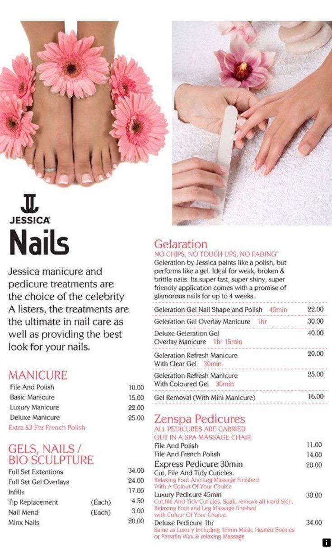 Pin By Faten Ghorab On قائمة اسعار الصالونات Nail Salon Prices