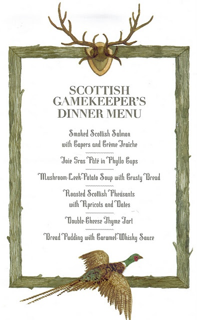 85 best menu ideas images on pinterest wedding menu for Burns supper menu template