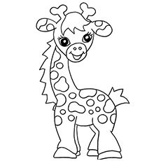 Top 20 Free Printable Giraffe Coloring Pages Online ...