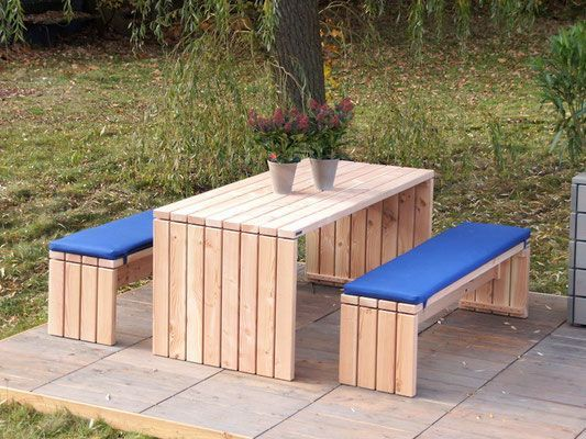 Terrassenmöbel holz massiv modern  Top 25+ best Gartenmöbel set holz ideas on Pinterest | Balkonmöbel ...