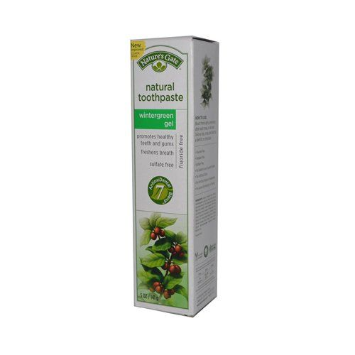 Nature's Gate Natural Toothpaste Gel Flouride Free Wintergreen - 5 oz - Case of 6 * Additional details at the pin image, click it  : Dog gates