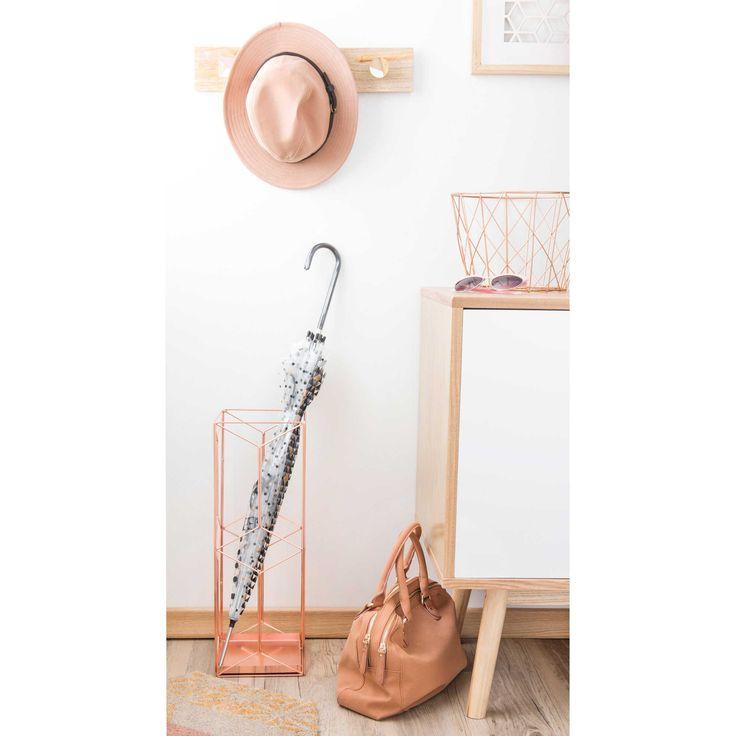 porte parapluie en m tal cuivr swaggy copper maisons du monde cuivre tendance pinterest. Black Bedroom Furniture Sets. Home Design Ideas