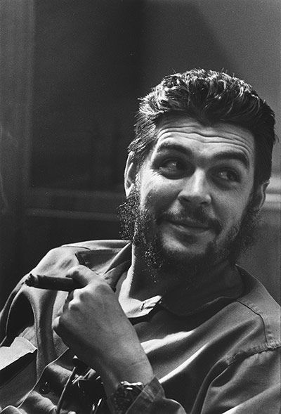 Che Guevara, Havana, Cuba, 1964, photo by Elliot Erwitt/Magnum Photos