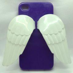 Telefonunuzu melekler korusun... iphone 4 ve 4s içindir Renk: Mor