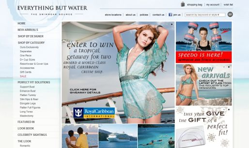 beautiful ecommerce website example #ecommercewebsite