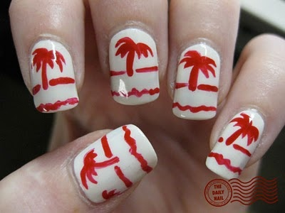 In-n-Out nails!!! This would be so cute if we could actually have our nails painted at work!